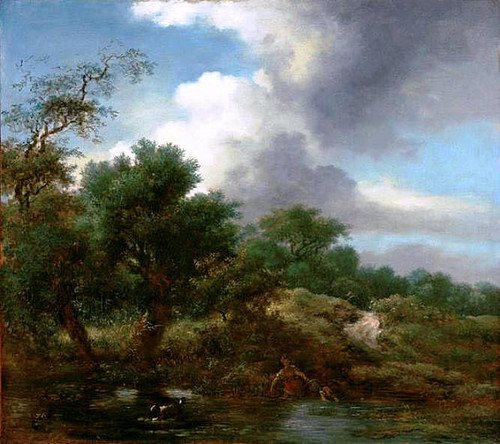 The Pond By Jean Honore Fragonard  By Jean Honore Fragonard