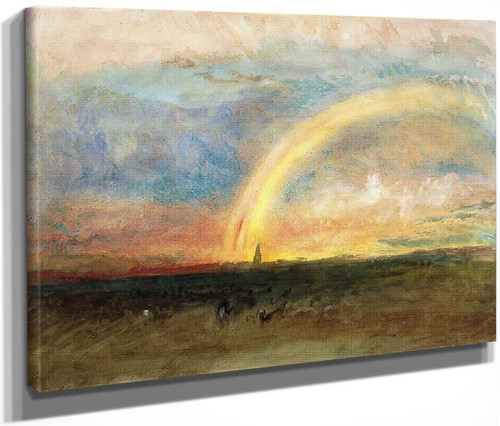 The Rainbow By Joseph Mallord William Turner
