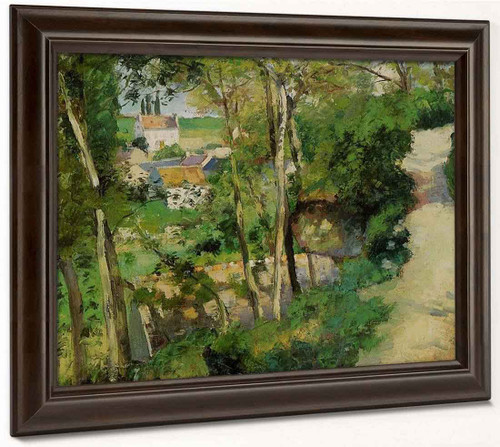The Rising Path, Pontoise By Camille Pissarro By Camille Pissarro