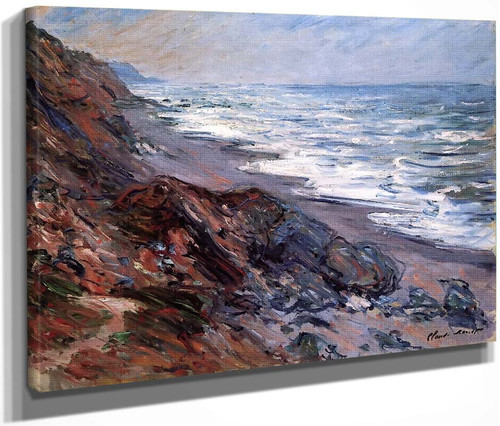 The Sea At Pourville By Claude Oscar Monet
