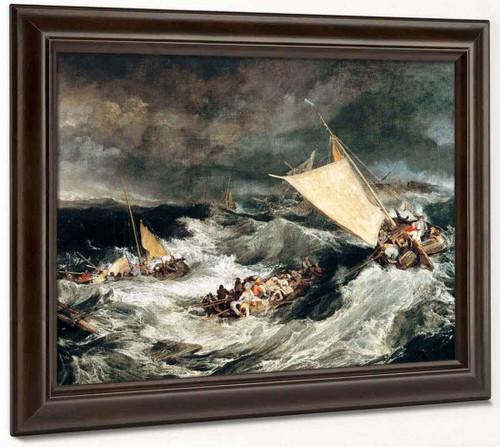 The Shipwreck By Joseph Mallord William Turner