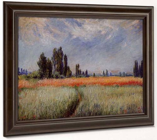 The Wheat Field By Claude Oscar Monet
