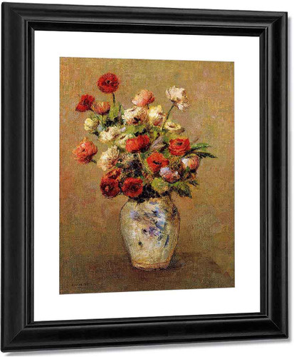 Bouquet Of Flowers3 By Odilon Redon