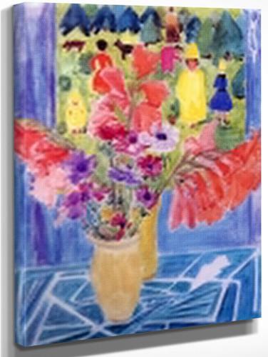 Bouquet By Erich Heckel