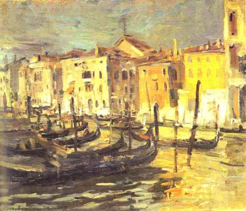 Venice By Constantin Alexeevich Korovin By Constantin Alexeevich Korovin