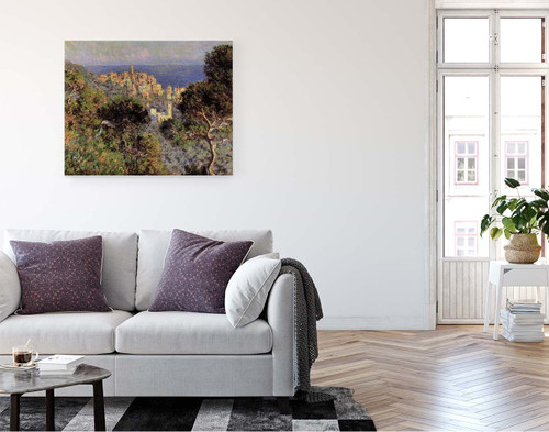 View Of Bordighera By Claude Oscar Monet