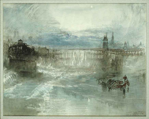View Of Lucerne By Joseph Mallord William Turner