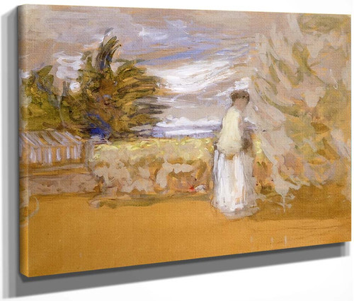 Woman In A Garden By Edouard Vuillard