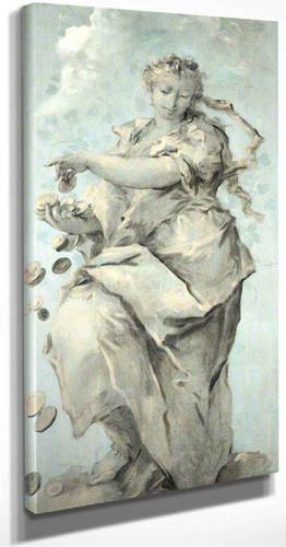 Abundance By Francesco Guardi