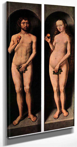 Adam And Eve By Hans Memling