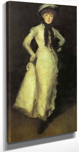 Arrangement In White And Black By James Abbott Mcneill Whistler American