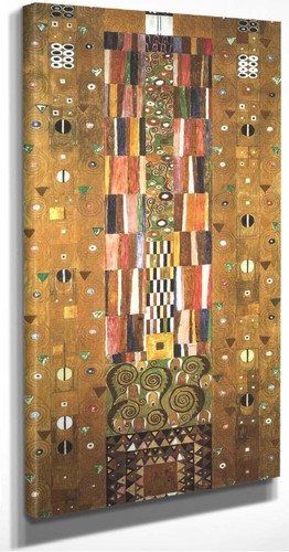 Design For The Stocletfries By Gustav Klimt