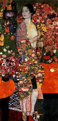 Die Tänzerin By Gustav Klimt(Austrian,  ) By Gustav Klimt(Austrian,  )