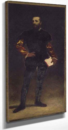 Felix Regamy  By William Morris Hunt