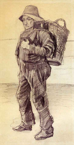Fisherman By Vincent Van Gogh