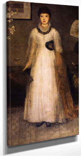 Harmony In Grey And Peach Colour By James Abbott Mcneill Whistler American