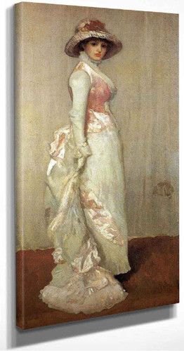 Harmony In Pink And Grey Valerie, Lady Meux By James Abbott Mcneill Whistler American