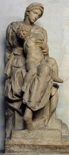 Medici Madonna By Michelangelo Buonarroti By Michelangelo Buonarroti