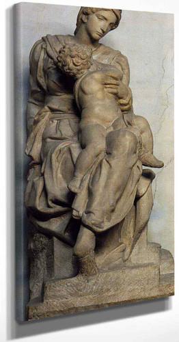 Medici Madonna By Michelangelo Buonarroti