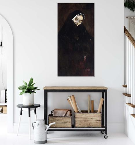 Old Woman By Gustav Klimt