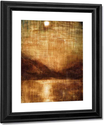 Brown Moonlight By Christian Rohlfs