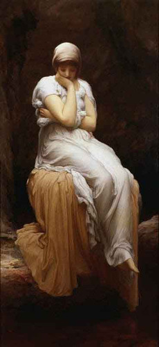 Solitude By Sir Frederic Lord Leighton