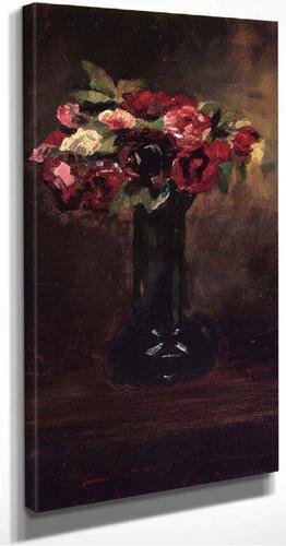 Still Life With Flowers By Julian Alden Weir American