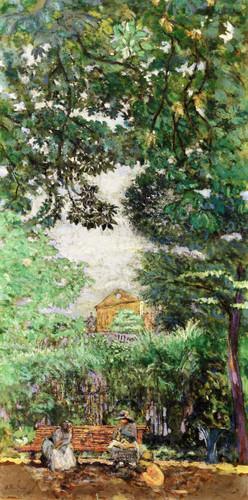 The Bench  By Edouard Vuillard