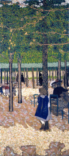 The Public Gardens Under The Trees By Edouard Vuillard