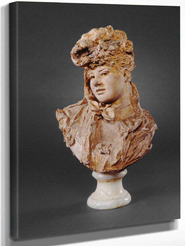 Bust Of A Woman By Auguste Rodin
