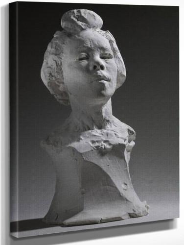 Bust Of Haneko By Auguste Rodin