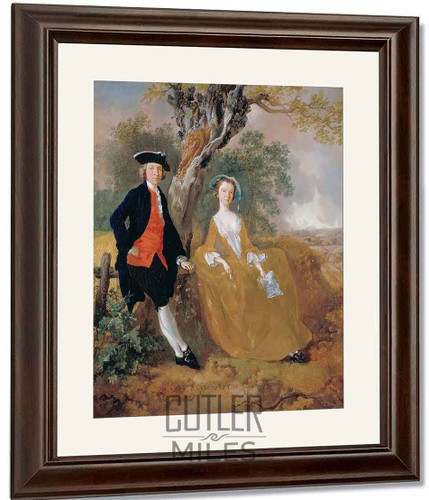A Couple In A Landscape By Thomas Gainsborough By Thomas Gainsborough