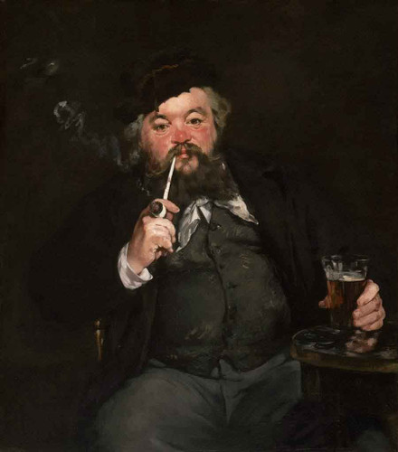 A Good Glass Of Beer By Edouard Manet By Edouard Manet