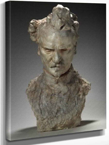 Bust Of Rochefort By Auguste Rodin