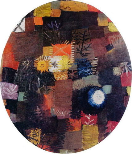 A Little Christmas Still Life By Paul Klee By Paul Klee