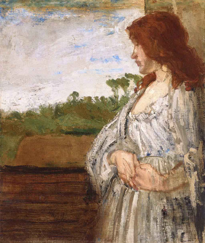 A White Note By James Abbott Mcneill Whistler American
