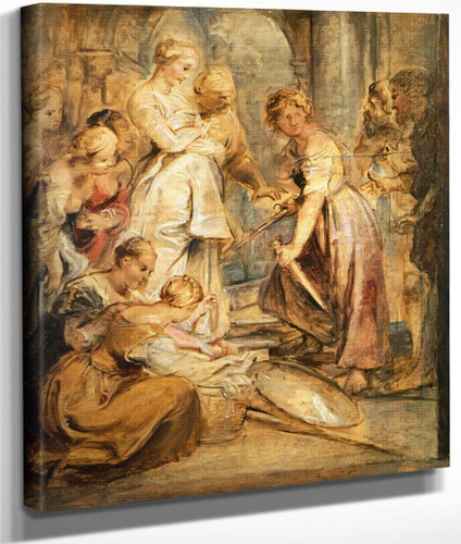 Achilles And The Daughters Of Lykomedes By Peter Paul Rubens By Peter Paul Rubens