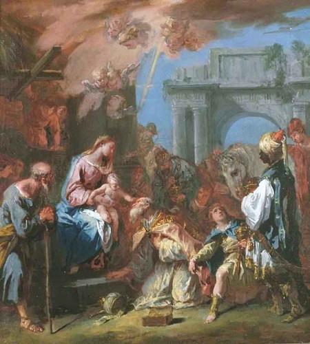 Adoration Of The Magi By Sebastiano Ricci