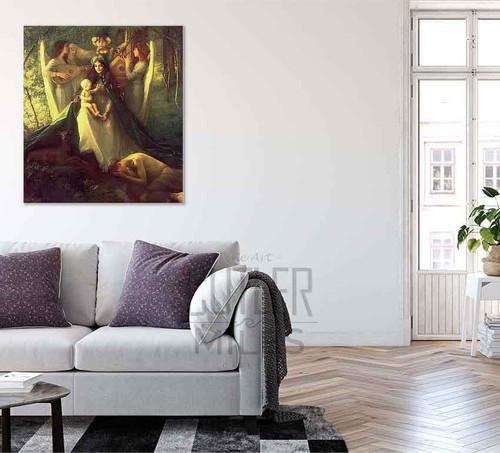 Afflictorum By Pascal Dagnan Bouveret