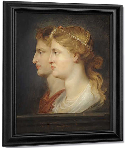 Agrippina And Germanicus By Peter Paul Rubens By Peter Paul Rubens