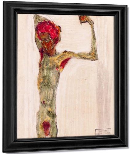 Anarchist By Egon Schiele By Egon Schiele