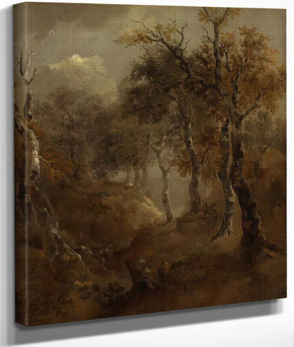 Autumn Landscape By Thomas Gainsborough By Thomas Gainsborough