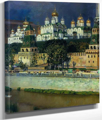 Cathedrals Of The Moscow Kremlin By Apollinari Vasnetsov
