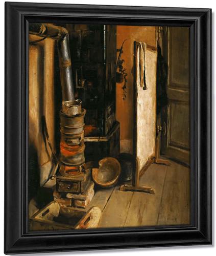 Corner Shop, The Stove By Eugene Delacroix By Eugene Delacroix