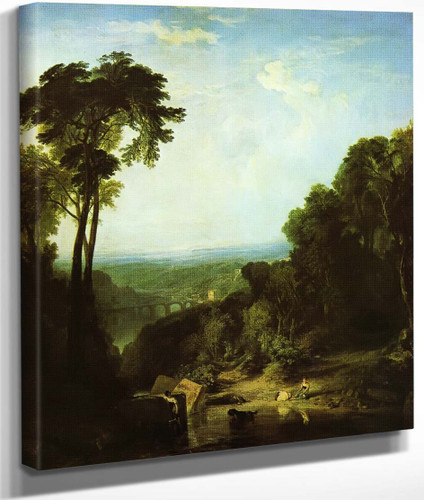 Crossing The Brook By Joseph Mallord William Turner
