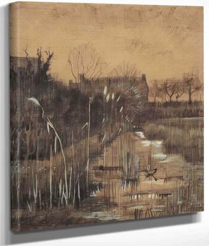 Ditch By Vincent Van Gogh