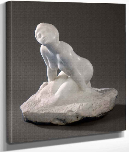 Figure Of A Woman The Sphinx By Auguste Rodin