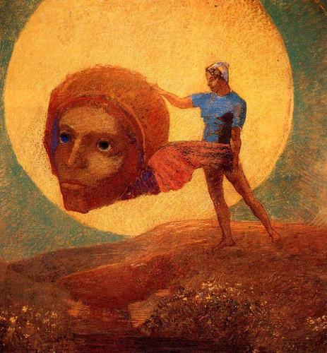 Figure By Odilon Redon By Odilon Redon