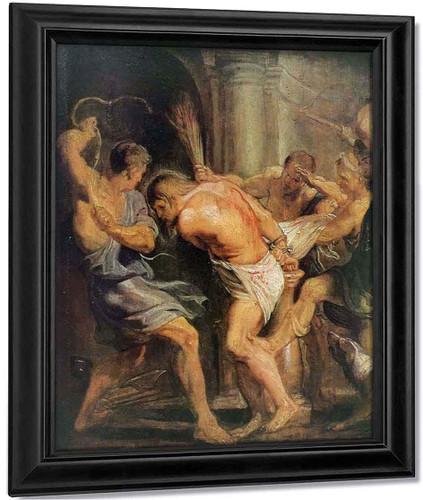 Flagellation Of Christ By Peter Paul Rubens By Peter Paul Rubens