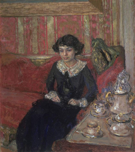 Girl In An Interior By Edouard Vuillard